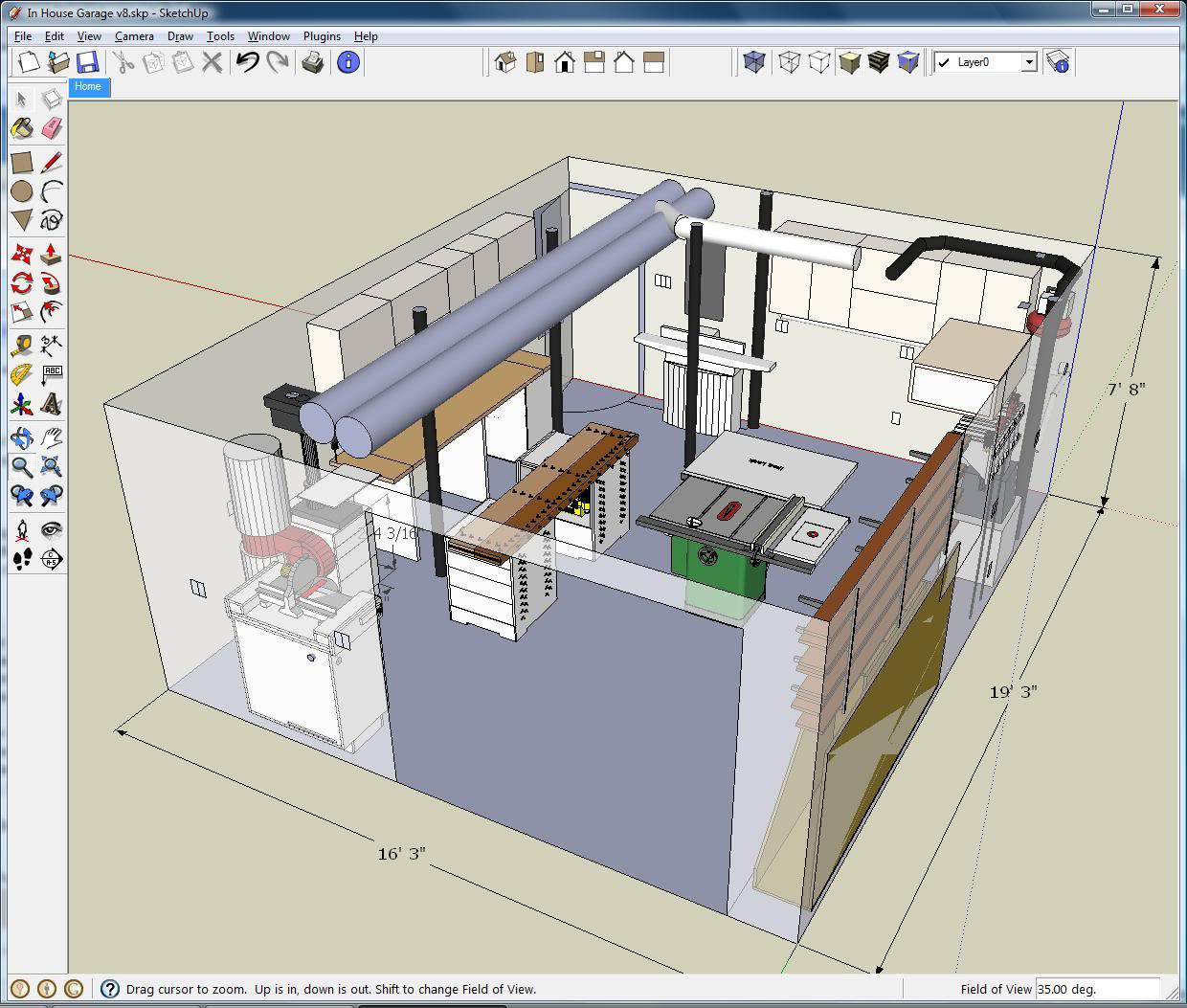 Comment utiliser sketchup for Sketchup plan maison
